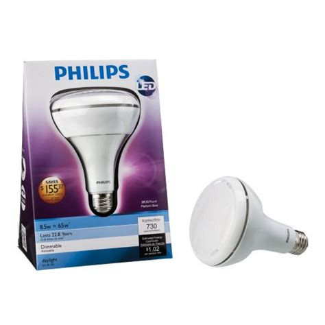 Lu Led Philips 24 Watt philips 425306 8 5 watt 65 watt br30 indoor daylight
