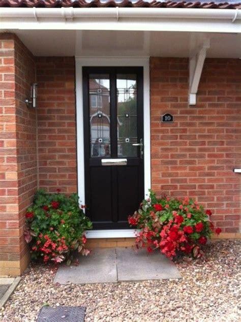 Black Upvc Front Doors Beautiful Simple Black Upvc Front Door An Entrance Pinter