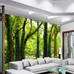 Hanging Wall Murals Beautiful Woods Wallpaper Custom Wall Mural Nature