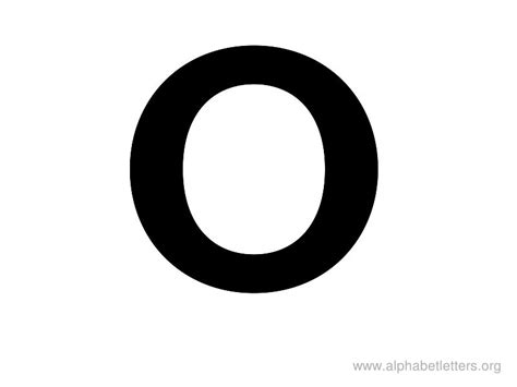 large printable letter o big letter o pictures to pin on pinterest pinsdaddy