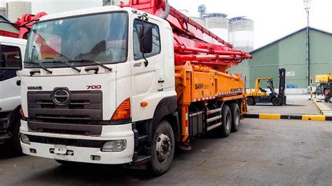 Truck Mixer Hino Bekas hino sany concrete truck pompa bekas jual