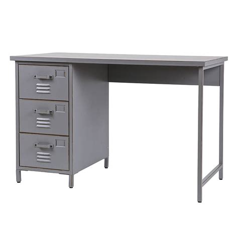 vintage style metal desk by cuckooland