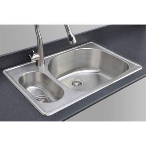 20 kitchen sink sinkware 18 20 80 bowl topmount