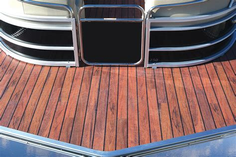 boat carpet wood look teak marine vinyl flooring