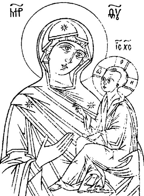 christian icon coloring pages wonderful eastern clipart orthodox christian icons