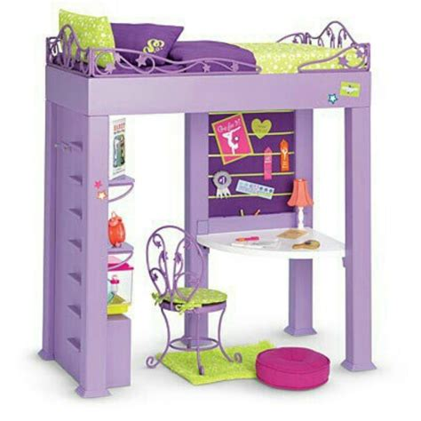ag doll beds loft bed for dolls american girl or 18 quot doll houses accessories pinterest