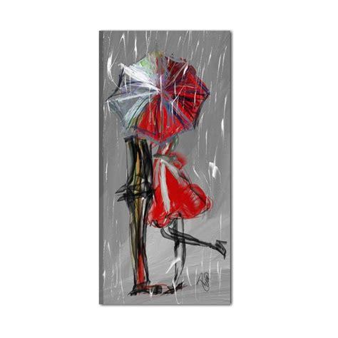 quadro moderno grigio rosso  raffigurazione  una