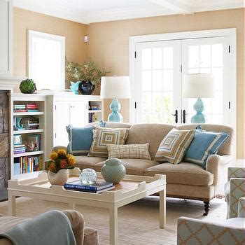 Living Room Blue And Beige Beige Sofa Design Ideas