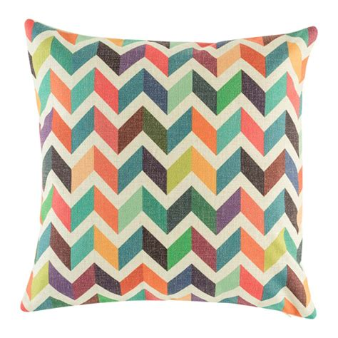 online chevron pattern maker buy rainbow chevron cushion cover online simply cushions