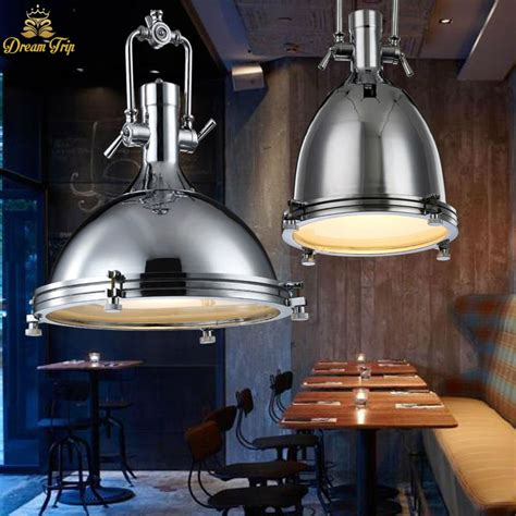 Retro Kitchen Light Fixtures Vintage Pendant Lights E27 Industrial Retro Edison Ls Dia36cm Loft Bar Living Light Fixtures