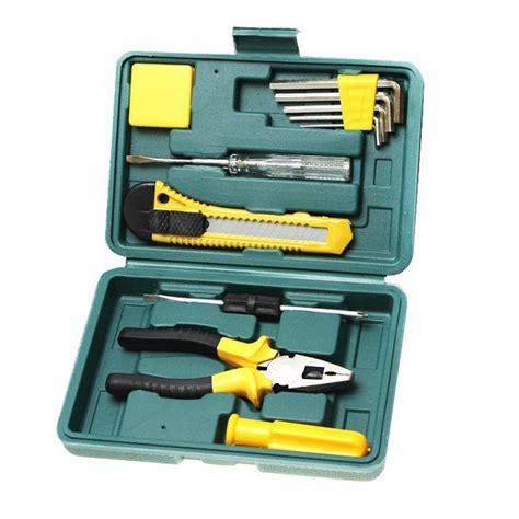 11pcs Basic Carry Tool Set Kit Home Repair Tool Set With 11pcs auto car truck repair tool fix maintain set