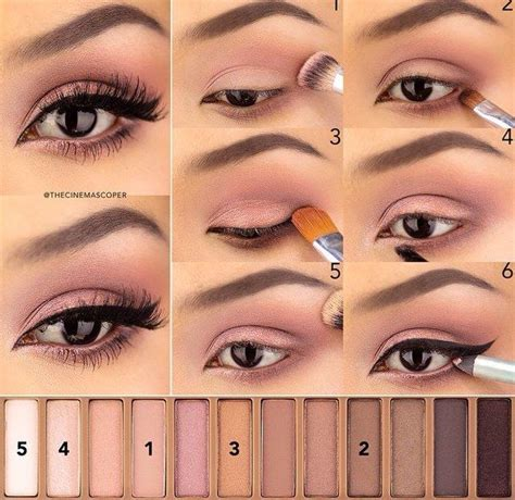 tutorial makeup smokey eyes pengantin 1000 ideas sobre paleta de la decadencia urbana en