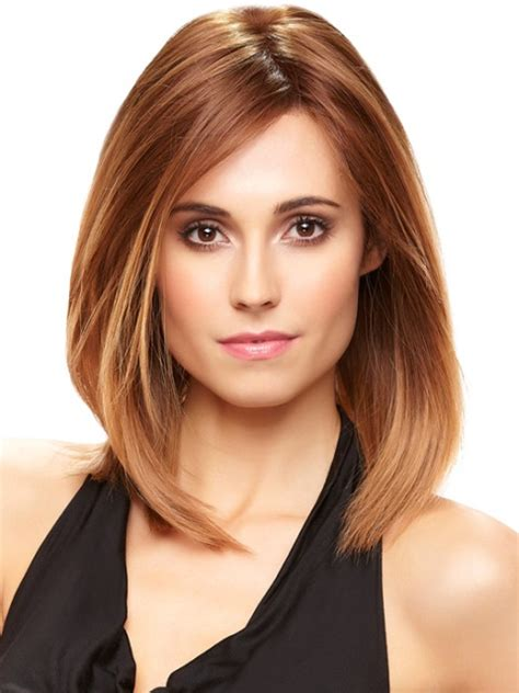 cute shoulder length haircuts longer in front and shorter in back cute hairstyles for hair above the shoulders