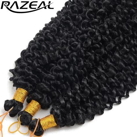grey braiding hair razeal curly crochet braids hair 14inch 100g synthetic