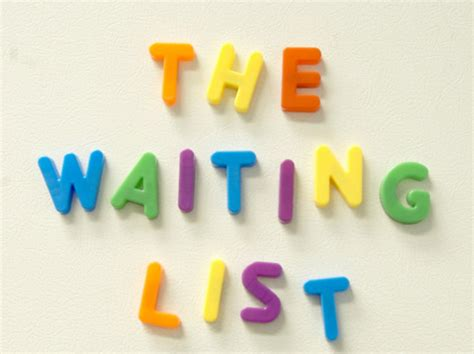 Waiting List big education ape update the waiting list dear