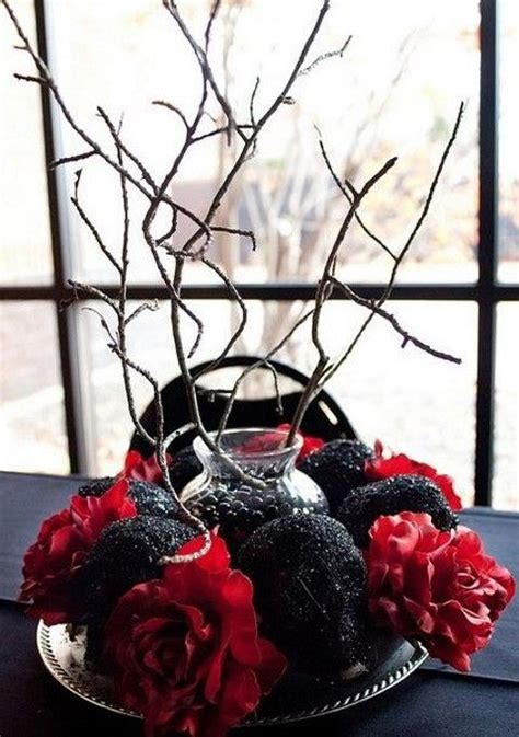 Best 25  Halloween wedding centerpieces ideas on Pinterest