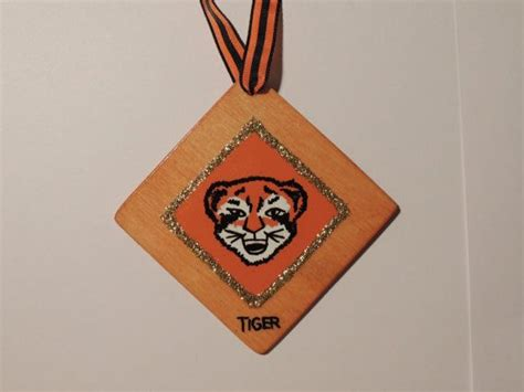 cub scout christmas ornament ideas 1000 images about cub scouts tiger on scout boy scouts and cub scout