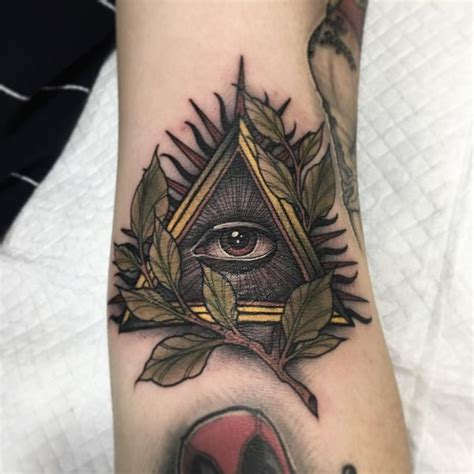 illuminati sleeve tattoo designs illuminati design ideas with meanings 2018