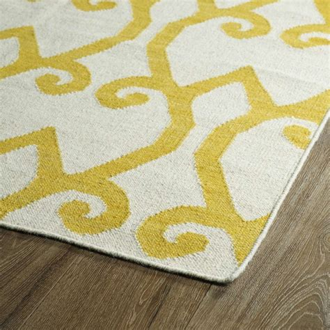 Yellow Area Rug Area Rugs Yellow Rugstudio Presents Capel Insignia 62690 Yellow Flat Woven Area Rug Artistic