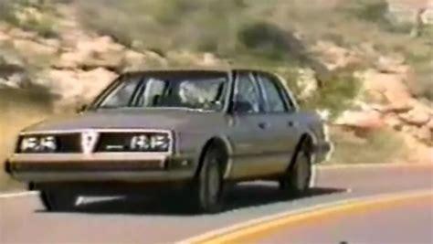 187 1987 pontiac 6000 s e dealership training video