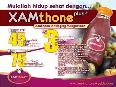 Xamthone Plus Di Jmin Asli Juice Kulit Manggis xamthone plus ud melina store healthy solution