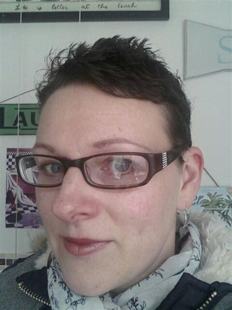 6 months post chemo scalp 1st hair cut 9 months post chemo hair growth pinterest