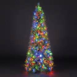 pre lit trees with led lights sale on 6ft 180cm duchess spruce slim green pre lit led