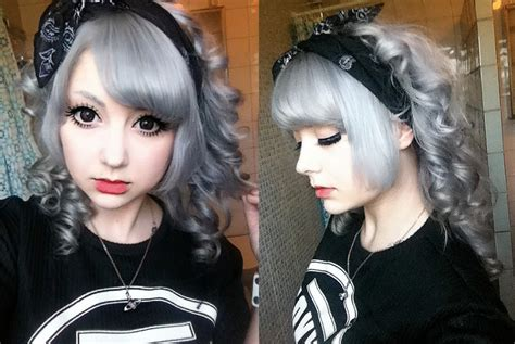 putting silver pravana over brown hair princess potato grey hair how to obtain and maintain it