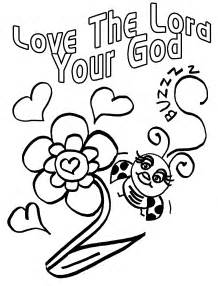 god coloring pages children s gems in my treasure box bug for jesus