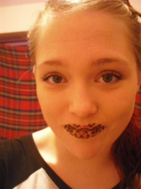 temporary lip tattoos temporary lip tattoos new trend