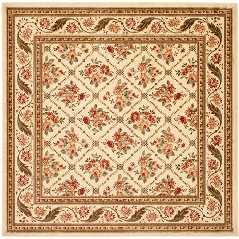 7 foot square rug shop safavieh lyndhurst square transitional woven area rug common 7 ft x 7 ft actual 6