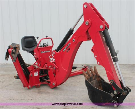 mahindra backhoe attachment for sale vehicles and equipment auction in kingman kansas by