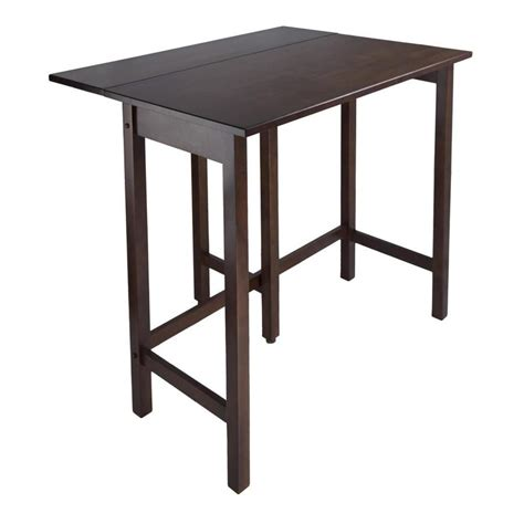 Counter Height Drop Leaf Table Shop Winsome Wood Lynnwood Extending Counter Table At Lowes