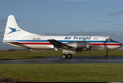 convair 580 air freight nz aviation photo 1256133 airliners net