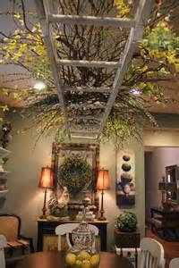 Home Decor Hanging Ceiling by Top 10 Ways To Use Your Rustic Ladder When Decorating