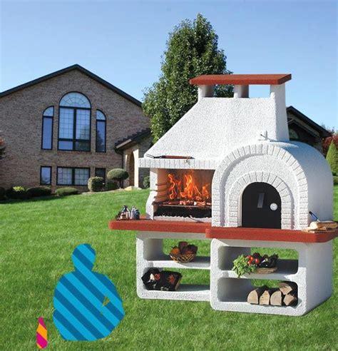 forni a legna con barbecue da giardino barbecue forno a legna da giardino prezzi con forno a
