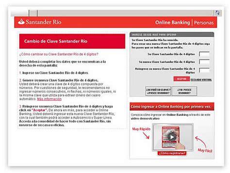 banco santander home banking banking santander r 237 o la comodidad de operar en