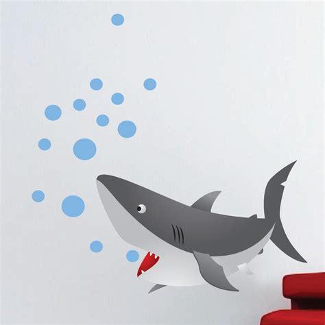 Wall Mural Decals For Kids kids shark mural decal nursery wall decal murals