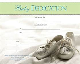 dedication template doc 585461 baby dedication certificate baby dedication