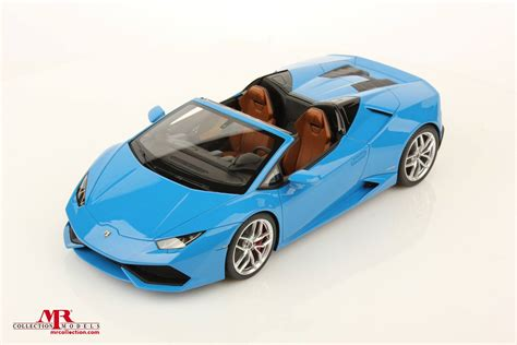 Lamborghini Huracan Spyder 1:18 Scale Model Looks Just