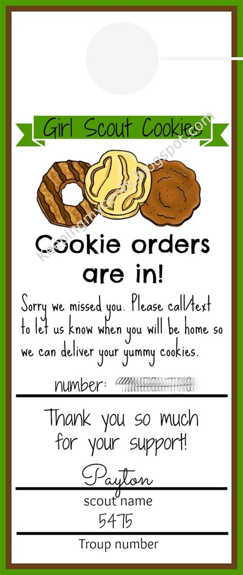 Girl Scout Crafts On Pinterest Girl Scout Swap Girl Scouts And Girl Scout Law Scout Door Hanger Template