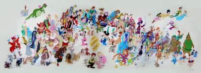 Spongebob Wall Murals mural removin season at disney imagineering disney