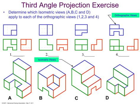 9 Drawings For Projection by Introduction To Mechanical Drawings Course Outline