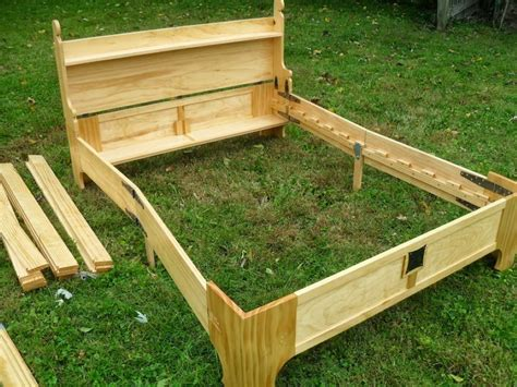 bed in a box plans this amazing fold up bed can be stored in a small wooden