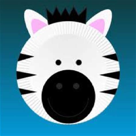 Zebra Paper Plate Craft - best 25 zebra craft ideas on diy zebra crafts