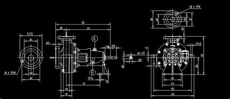 centrifugal pump dwg block  autocad designs cad