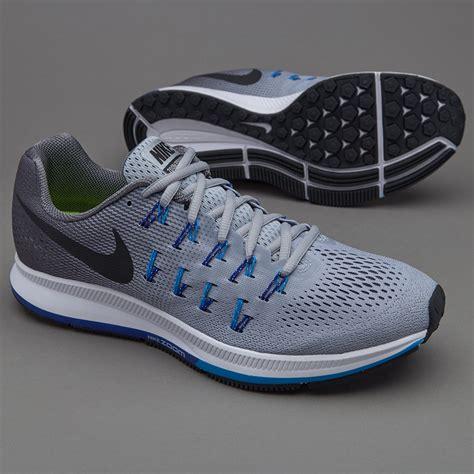 Sepatu Running Lari Nike Zoom Pegasus 3 0 Import Olahraga sepatu lari nike air zoom pegasus 33 wolf grey black grey photo blue