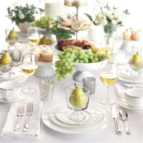 elegant table settings table setting how to set a proper table