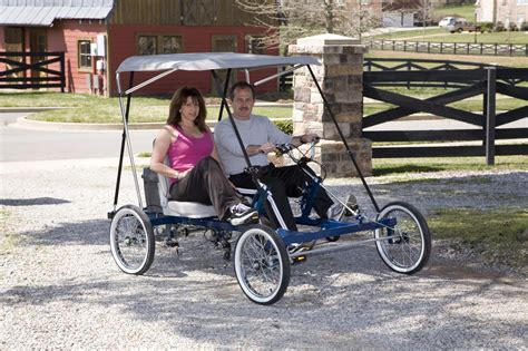 bicycle car rhoades car the 4 wheel bike that drives like a car we