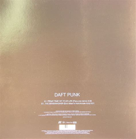 daft punk prime time of your life daft punk prime time of your life vinyl at juno records